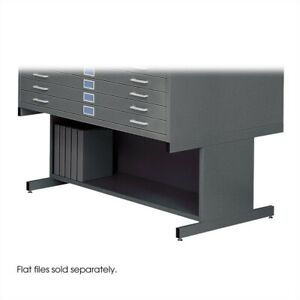 Filing Cabinet File Storage 20 h Open Base For 4998 Flat In Black