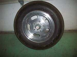 Vintage 1960 S Ansen Sprint 5 X 5 5 Aluminum Slotted Wheel With Tire Gasser