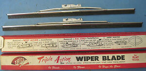 Nos Trico Wiper Blades 11 12 Ford Mercury Packard Lincoln 1941 54 And Others