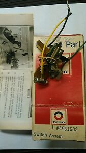 Cadillac Gm Late 1975 Up Pulse Wiper Timing Switch Nos