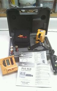 Pls Pls180 Level System With Sld Hand Held Detector Pacific Laser Systems