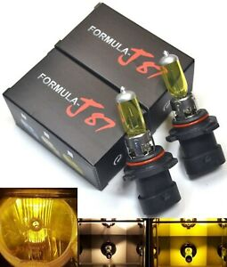 Halogen 9006xs Hb4a 55w 3000k Yellow Two Bulbs Head Light Low Beam Replacement