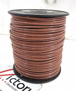 New Stranded Copper Wire 10 Awg Thhn Thwn 500 Ft cable Brown