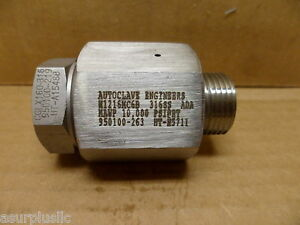 Autoclave Engineers M1216mc6b Fitting 10 000 Psi 316ss Nos