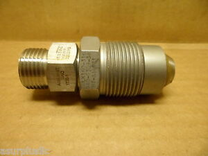 Autoclave Engineers Adapter Fitting 20 000 Psi 316ss Nos