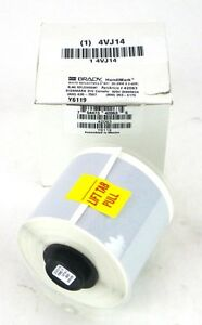 Brady 42063 2 X 31 Silver White Reflective Tape For Handimark Label Maker