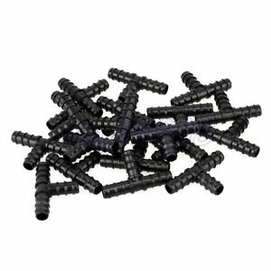 20pcs 16mm Barb Drip Tee Connector Fittings Agricultural Garden Lawn Irrigation