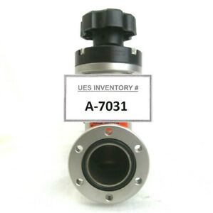 Nor cal Products A113802 Manual Angle Isolation Valve Used Working