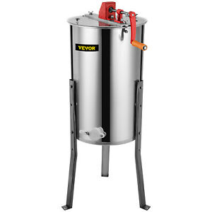 3 6 Frame Stainless Steel Honey Extractor Beekeeping Equipment Honeycomb Drum