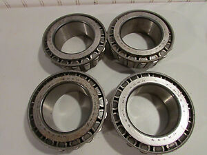 Timken Na749 Taper Roller Bearing Lot Of 4 Used
