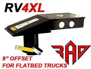 Popup Rv4xl Kingpin To Gooseneck 5th Fifth Wheel Rv Hitch Adapter Flatbed Only