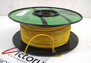 New West Penn Solid Copper Wire 14 Awg 1 Conductor 1000 Ft yellow Cable