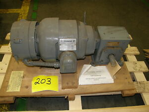 Sterling Electric Motor B184c And Reducer 15 1 new new