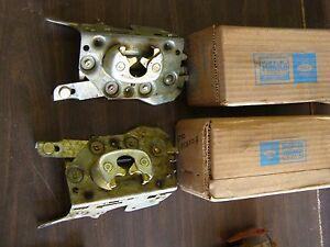 Nos Oem Ford 1965 1966 1967 Galaxie 500 4 Door Rear Latches Station Wagon