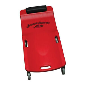 Lisle Large Wheel Plastic Creeper Red 92032
