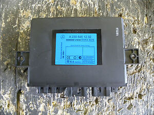 03 04 05 06 Mercedes Benz R230 Sl500 Sl600 Multiplex Keyless Go Ecu 2305451232