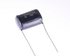 100x 10uf 200v Metallized Polycarbonate Film Capacitor Dc Vintage Audio Epoxy