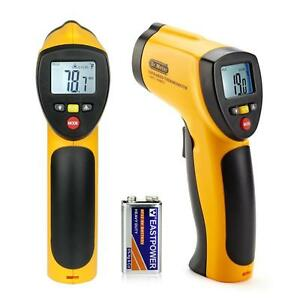 Temperature Gun Non contact Ir20 Infrared Laser Digital Thermometer Fda Approved