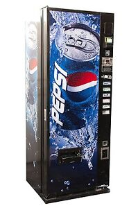 Dixie Narco 276 Pepsi Flat Can Front Single Price Vending Machine For Cans
