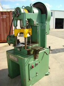 Bruderer bsta30 30 Ton 3 Post High Speed Press
