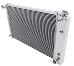 1978 1987 Chevy Monte Carlo Aluminum 3 Row Champion Radiator
