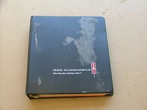 1965 Oldsmobile Product Selling Information Dealer Album Nice 88 98 442 F85
