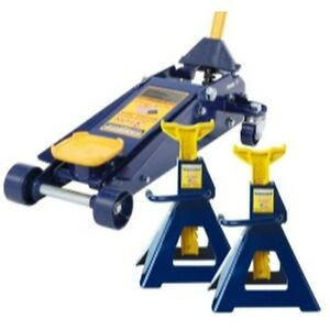 Omega Hw93652js 3 Ton Jack And Jack Stand Pair Combination