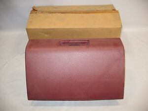 New Oem 1988 1995 Isuzu Pickup Glove Box Front Dash Storage Red Maroon