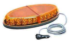 Wolo 3800m a Beyond Series Amber Lens 12 Volt Led Mini Bar Light W magnet Mount