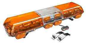 Wolo 7700 a Infinity Series Amber Lens 12 Volt Led Light Bar W mounting Straps