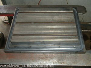 26 X 15 5 X 6 Steel Welding T slotted Table Cast Iron Layout Plate Weld