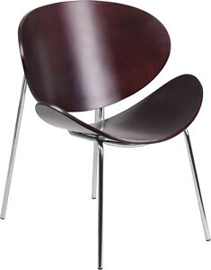 Mahogany Bentwood Leisure Reception Office Guest Chair