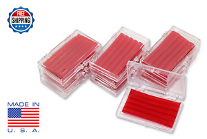 10 Pack Orthodontic Wax For Braces Irritation Cherry Scented Dental Relief