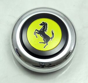 Nardi Steering Wheel Horn Button Center Kit For Anni And Classic Ferrari Logo