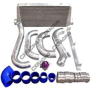 Cxracing Intercooler Piping Bov Kit For 86 92 Supra Mk3 1jz Gte Vvti Stock Turbo