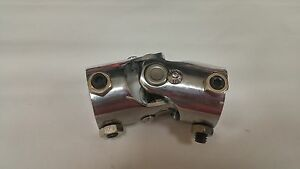 1 Dd X 1 dd Single Chrome Universal Steering Shaft U Joint Coupler