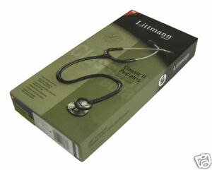 New Littmann Classic Ii Pediatric Stethoscope Black