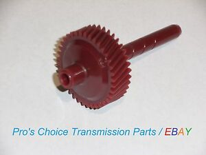 37 Tooth Red Speedometer Gear Fits Turbo Hydramatic 350 350c Transmissions