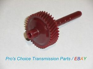 37 Tooth Red Speedometer Driven Gear Fits Gm Md8 700 R4 4l60 Transmissions