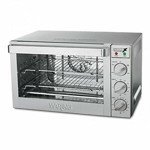 Waring Half Size Electric Convection Oven 120 Volts Model Wco500x Nsf Approved
