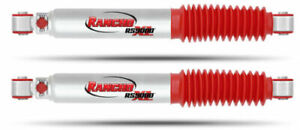Rancho Rs999286 Set Of 2 Rs9000xl Rear Gas Shock Absorbers For F 150 Mark Lt