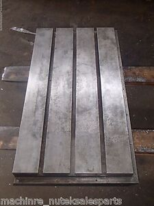 37 5 X 20 25 X 6 5 Steel Weld T slotted Table Cast Iron Layout Plate Jig