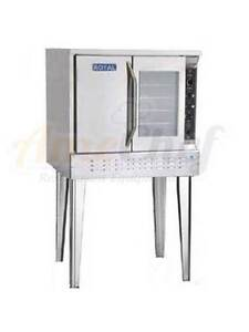 New Commercial Gas Convection Oven Full Size Single Deck Royal Rcos 1