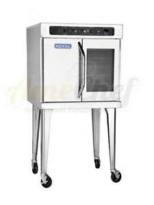 New Commercial Electric Convection Oven Full Size Single Deck Royal Reco 1