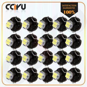 20 X Super White T3 Neo Wedge 2smd 3014 Led A c Climate Hvac Control Lights Lamp
