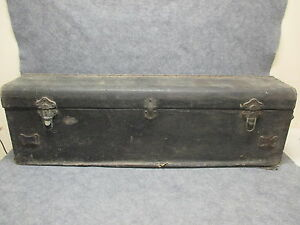 1920s Lasalle Or Cadillac Automobile Luggage Trunk Beals Selkirk 25361