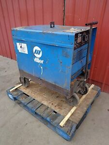 Miller Gold Star 300ss Direct Current Arc Welding Power Source Welder 230 460