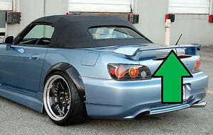 New Painted Custom Spoiler Fits Honda S2000 2000 2009 Any Color