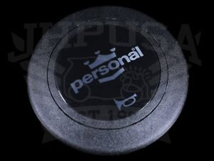 Personal Neo Grinta Steering Wheel Horn Button Silver Black Limited 4841 02 0103