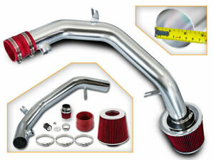 99 04 Vw Golf Jetta 2 8 Vr6 Polished Cold Air Intake Kit Red Filter